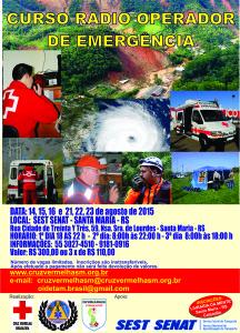 cartaz radiooperador emergencia 2015