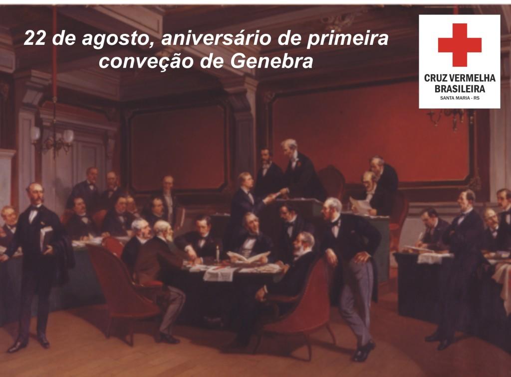 22 agosto aniversario convenção genebra