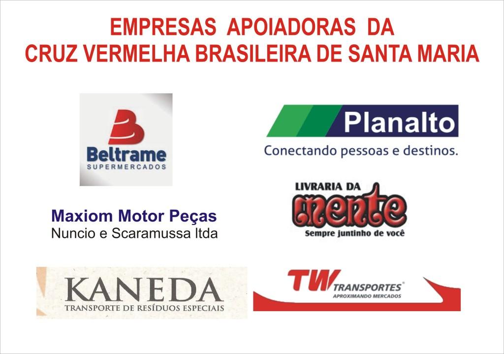empresas apoiadoras da CVBSM